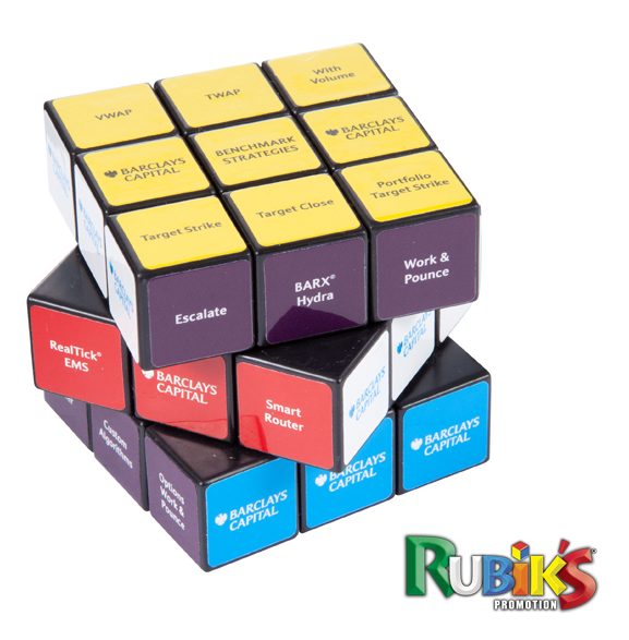 10% Discount on 3x3 Rubiks Cubes