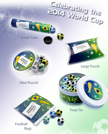 Football Themed Chocolate Promotional Products