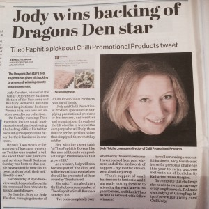 Photo of article in Banbury Guardian 11.06.15